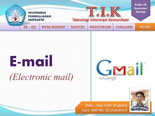 MPI membuat Email untuk kelas 9