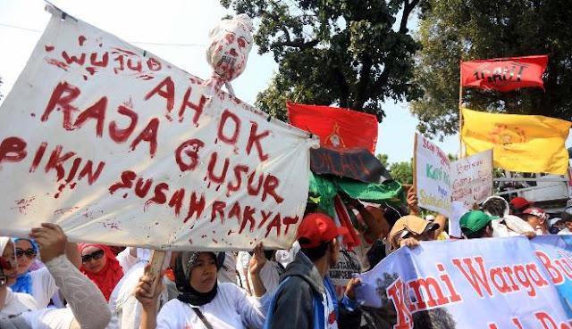 LBH Jakarta: Penggusuran di Pemerintahan Ahok Tertinggi dalam Sejarah