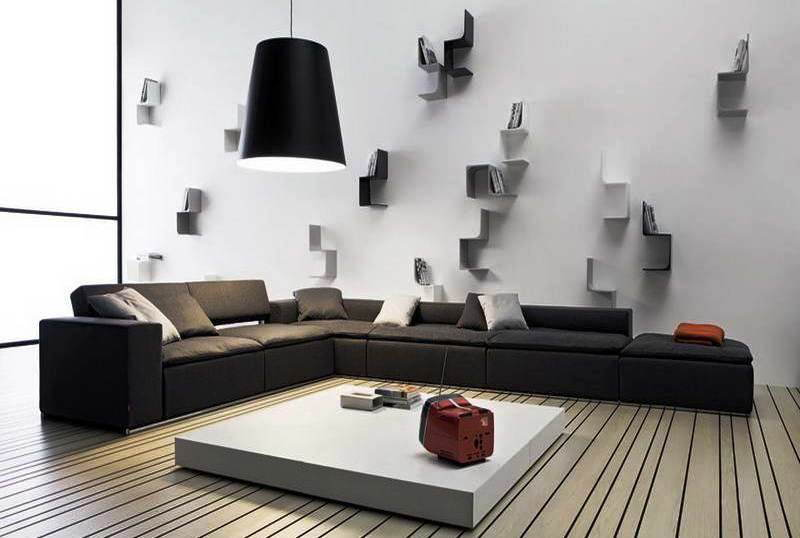 51 Ide Kreatif Inovatif Hiasan Dinding Ruang Tamu