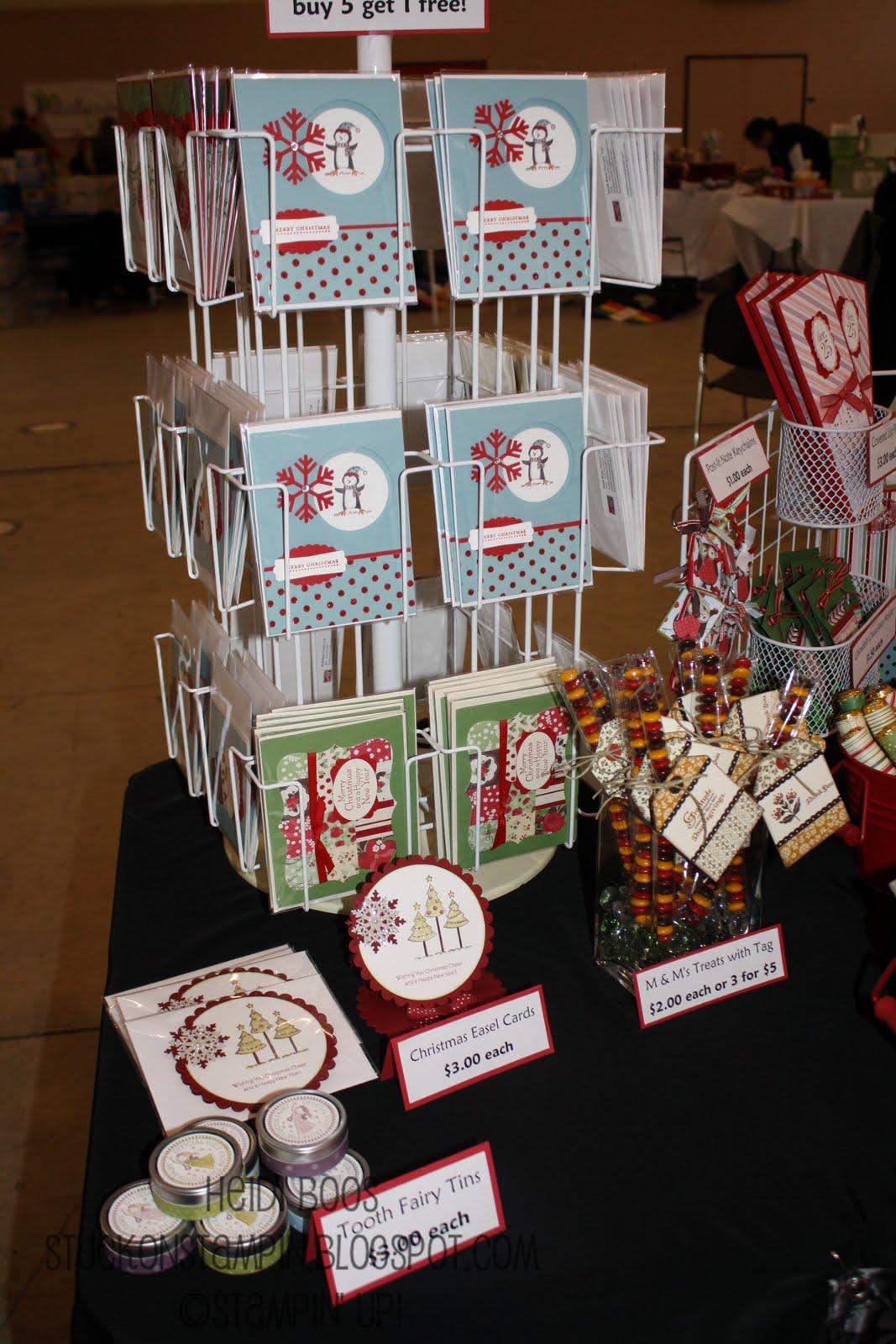 Stuck On Stampin Craft Bazaar Round Up 2011
