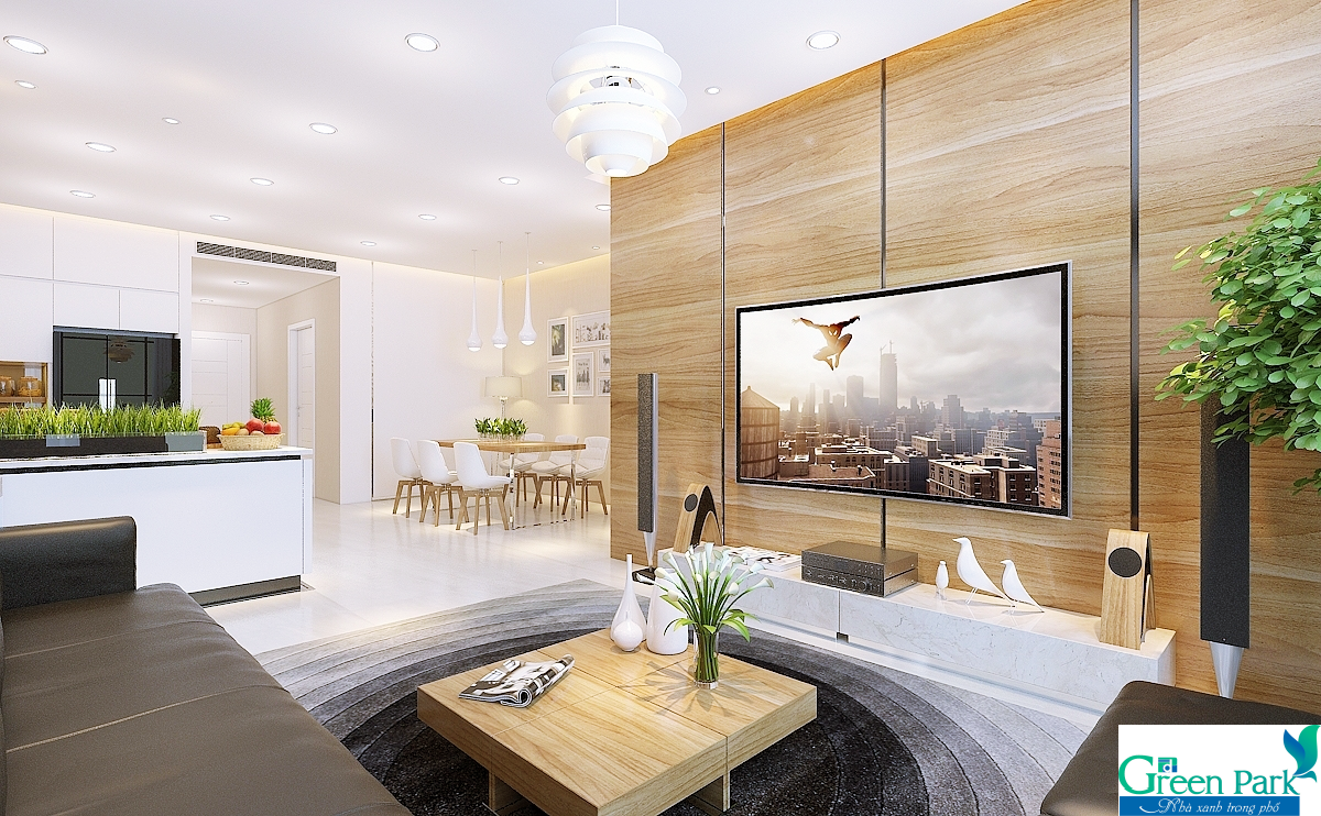 Thiết kế căn hộ đẳng cấp của Phương Đông Green Park