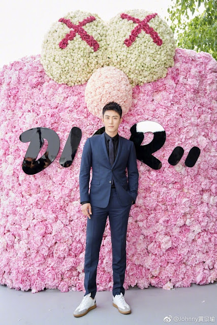 Johnny Huang Dior Men's Wear Week June 2018