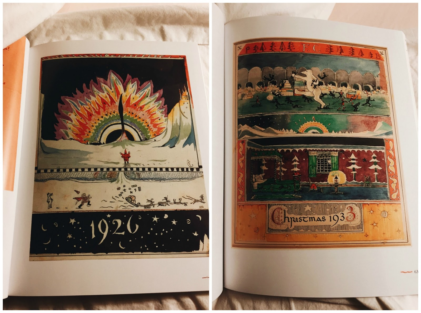 Julias bookbag letters from father christmas the book is lovely the pages are thick and smooth and silky the colors are just so gorgeous and vibrant while i wish this was a hard cover spiritdancerdesigns Choice Image
