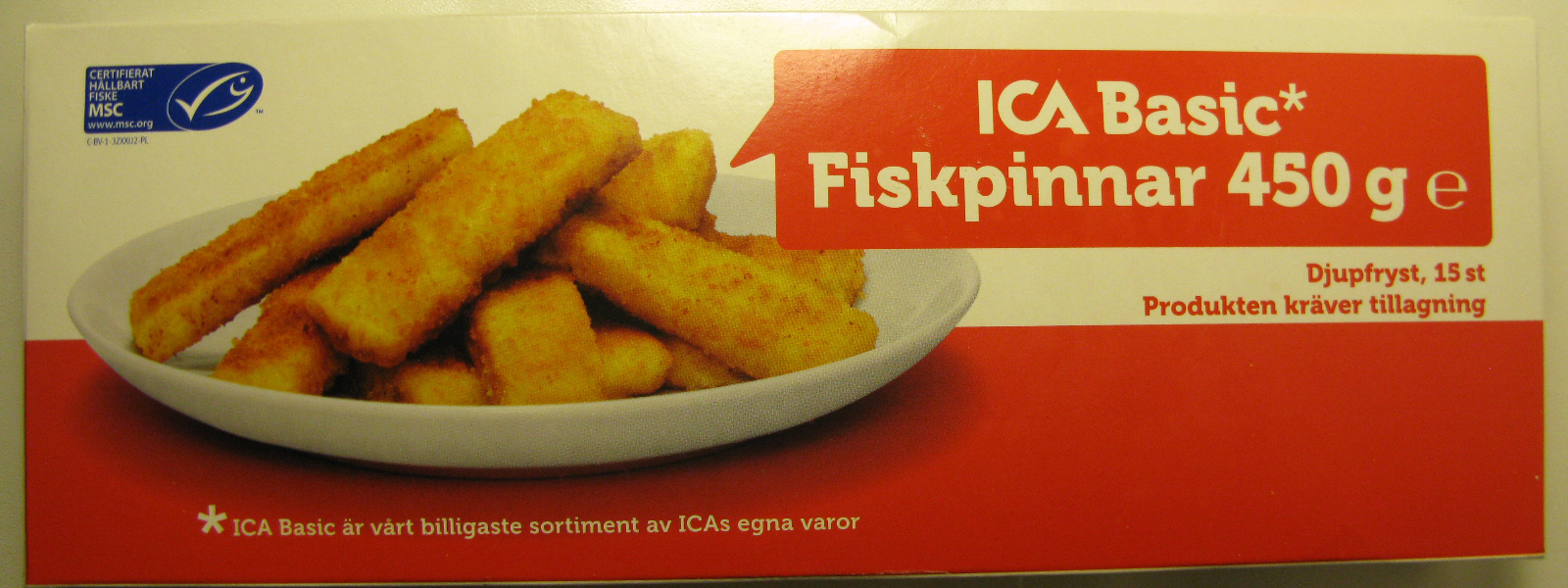 chicken nuggets ica basic priser