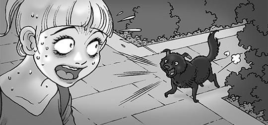 Silent Horror chap 95: Con chó xấu xa