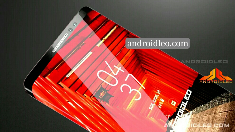 Samsung Galaxy note 9 concept smartphone
