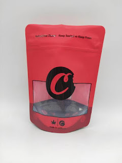cookies bag red packaging 28g 1oz ounce