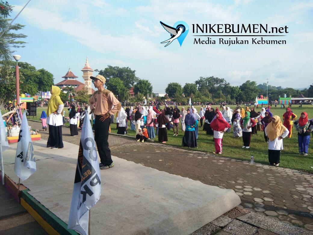 Rayakan Milad ke-20, PKS Kebumen Gelar Senam Nusantara