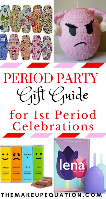 Period Party Gift Guide For Girls First Period