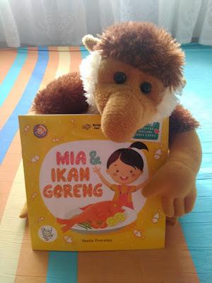 Mia & Ikan Goreng, Nana Imunisasi, dan Mata Doni Buram, Buku Anak Erlangga