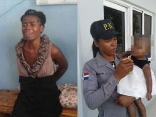 """Apresan haitiana pretendía matar su hija como """"sacrificio"""" en la Basílica de Higüey"""