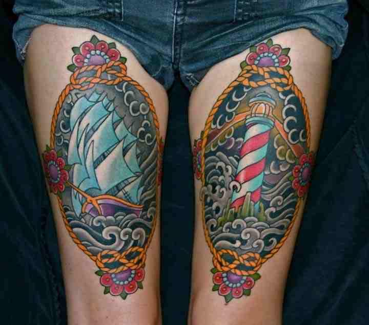 bacak dövme resimleri