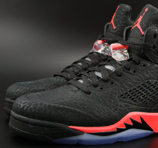 best sneakers 11d34 194f1 ... infrared 90810 e910e  czech this air jordan 5 retro 3lab5 comes in a  black and infrared23 colorway. featuring