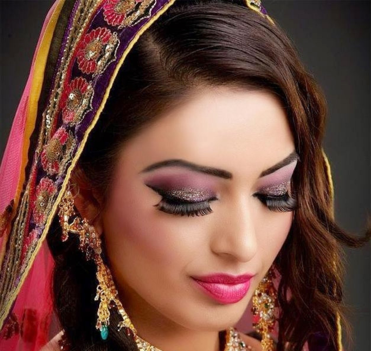 Most Popluar And New Look Bridal Wedding Makeup new Wallpapers Free Download HD collection_page_45