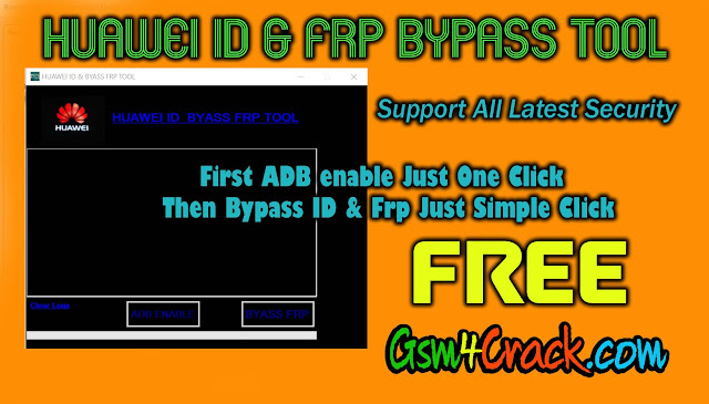 Huawei ID & Frp Bypass Tool