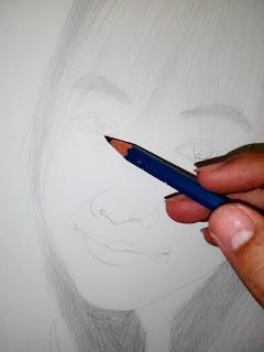 ขั้นตอนการวาดภาพเหมือน