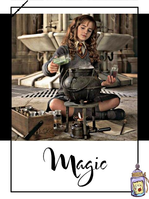 Hermione y sus pociones