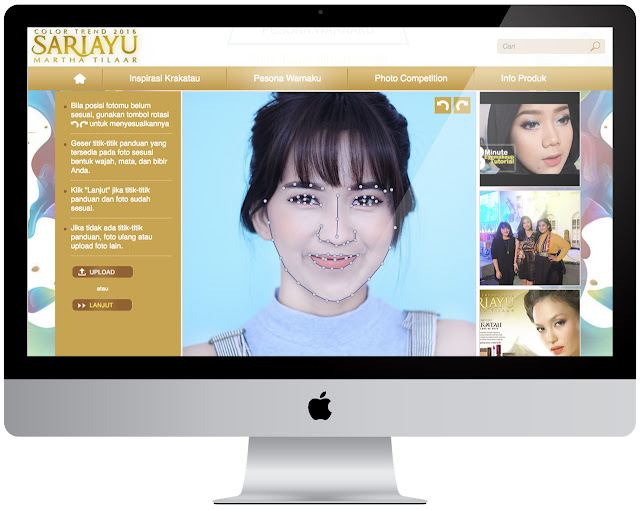 Sasyachi Beauty Diary: VIRTUAL MAKEOVER by SARIAYU
