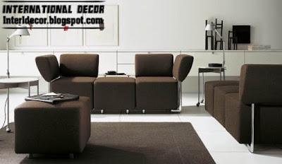 Interior Decor Idea: Modern sofas designs, colorations,sofas fashions 2013 - Modern Sofas Furniture Models With Different Color