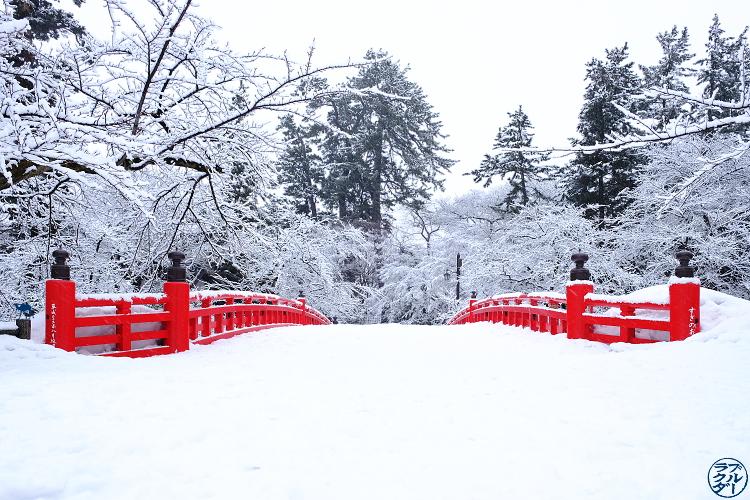 Le Chameau Bleu - Voyage au Nord du Japon - Tohoku - Parc d'Hirosaki