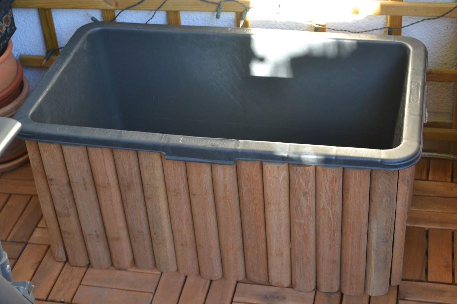 ulli s hexenk che neues projekt wir bauen einen brunnen f r den balkon. Black Bedroom Furniture Sets. Home Design Ideas