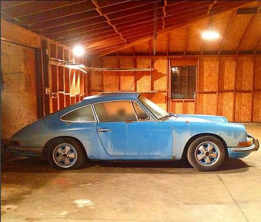 Daily Turismo: Out Of The Blue: 1968 Porsche 912