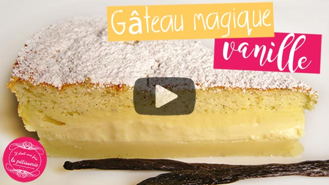 video gateau magique