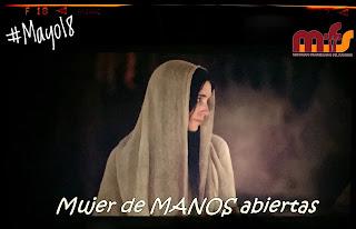 María; mujer de manos abiertas..
