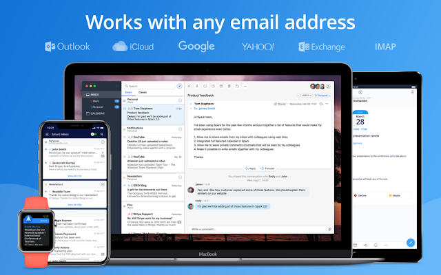 Download Spark v2 0 11, Best Personal Email Client for Mac