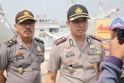 Kapal Bermuatan Pupuk 650 Ton Tebakar, Kapolres Pastikan Tidak Ada Korban Jiwa