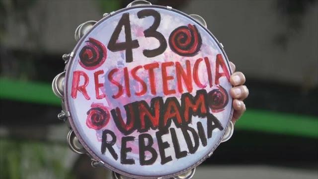 4 años y medio sin respuesta de desaparición de los 43 en México