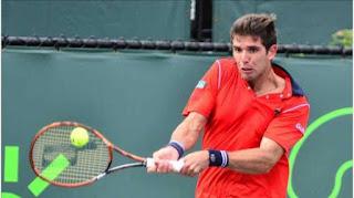 Federico Delbonis resultado de tenis