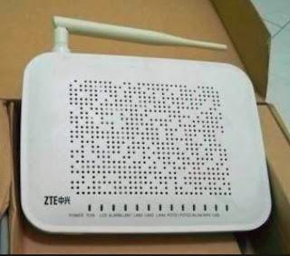 Tutorial Cara Mengganti Password WIFI Modem ZTE F609 Indihome