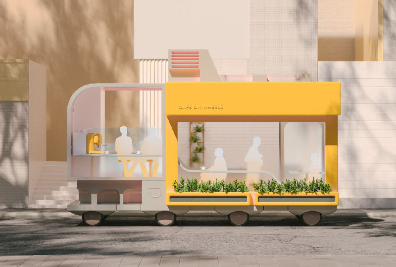 Space on Wheels CAFFE' di SPACE10