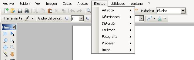 Usar filtros de Photoshop en Paint.NET - Solo Nuevas
