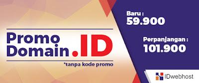 Promo Domain .ID Cuma 59.900
