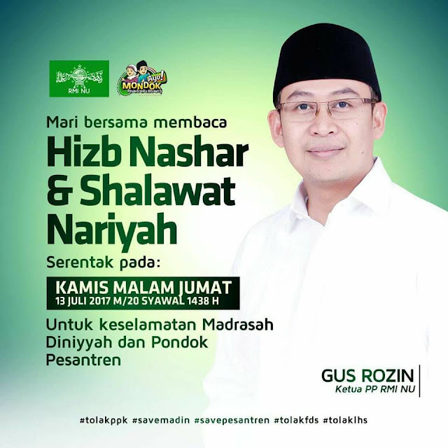 Nanti Malam, Ayo Warga NU Serentak Baca Hizb Nashar dan Shalawat Nariyah