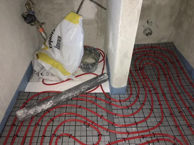Fußbodenheizung Legen ~ Die adler bauen in nrw fußbodenheizung wurde verlegt