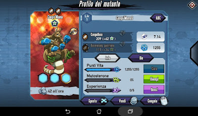 Mutants: Genetic Gladiators Breeding video N°240 (Kangu Mama - Beast)