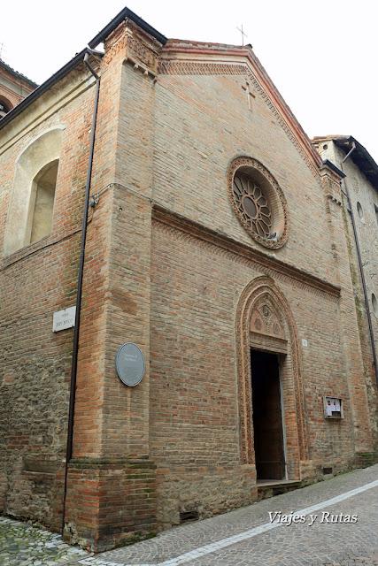 Oratorio de San Pietro, Castell'Arquato