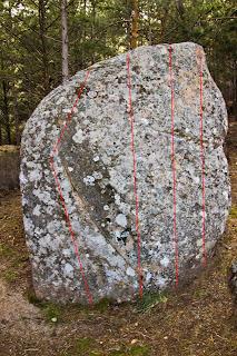 Croquis Boulder Collado Cabron La Pedriza