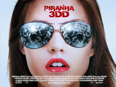 Piraña 3DD Película