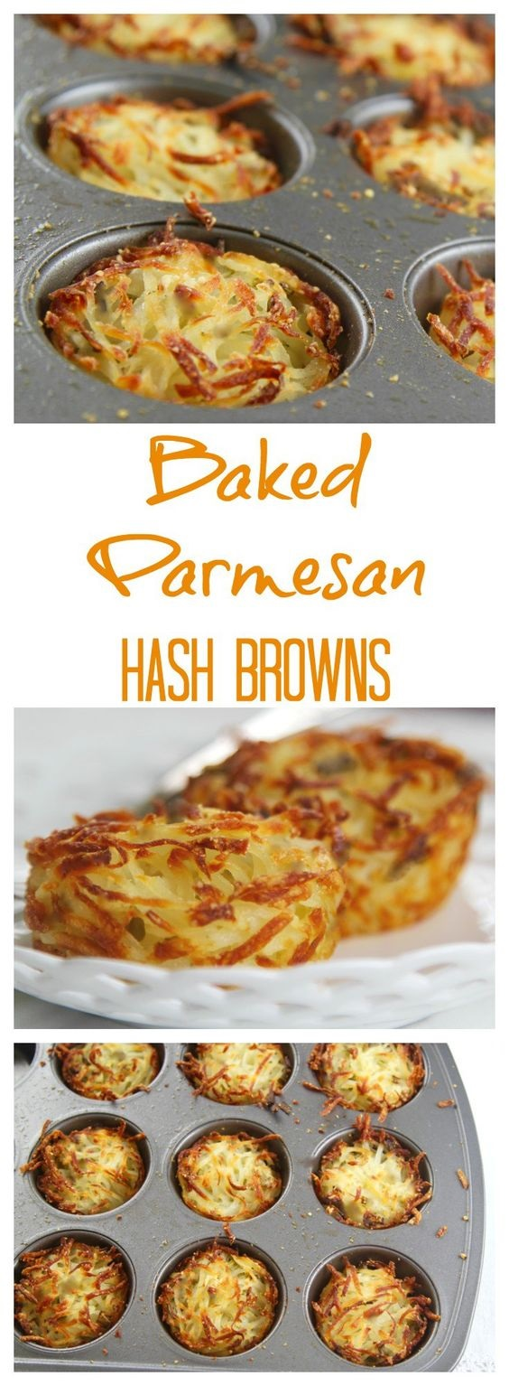 Parmesan Baked Hash Browns