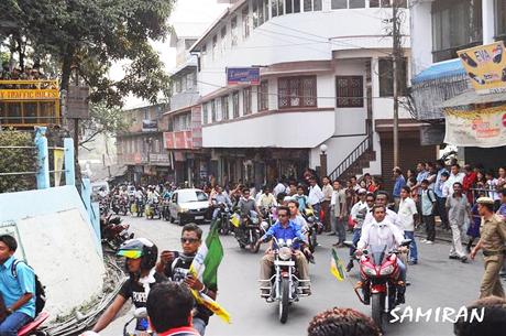 Gorkha Janmukti Yuva Morcha plans motorcycle rally for Gorkhaland
