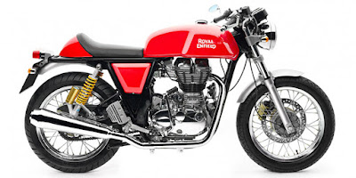Royal Enfield Continental GT side profile image hd