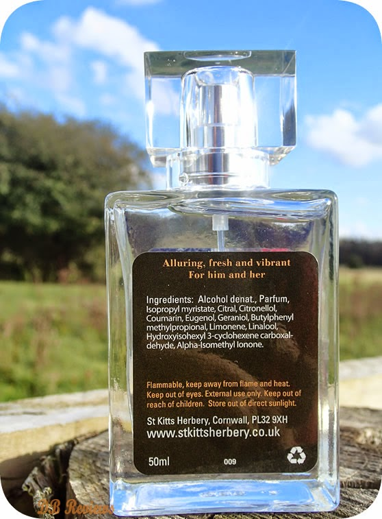 Bergamot Perfume from St. Kitts Herbery