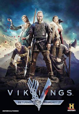 Vikings S01E01 Dual Audio 720p BRRip 250Mb x265 HEVC