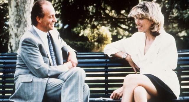 Juan Carlos y Selina Scott