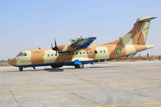 Photos: Nigerian Air Force intensifies efforts to locate missing Dapchi Girls, deploys additional air assets and personnel to the Northeast