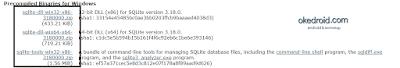 Sqlite merupakan suatu sistem administrasi database  Cara Menginstall dan Membuat Database SQLite di Windows 7